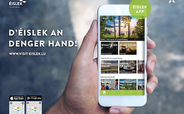 Éislek App Landscape QR Codes